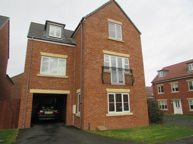 4 Bedrooms Detached House for sale in MEADOWSWEET ROAD, BISHOP CUTHBERT, HARTLEPOOL