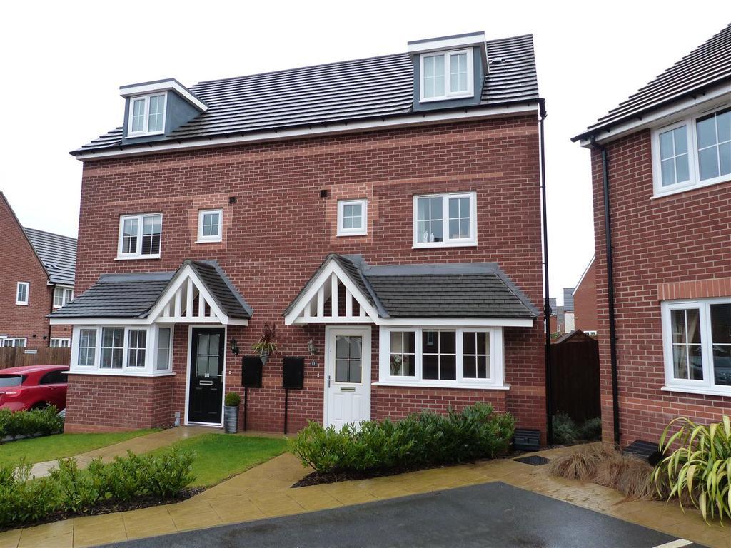4 Bedrooms Semi Detached House for sale in Brington Close, Market Harborough
