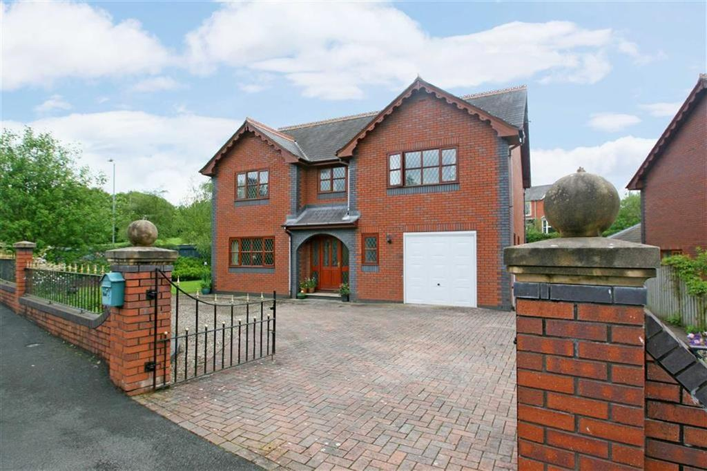 4 Bedrooms Detached House for sale in Camlo Close, GWYSTRE, Llandrindod Wells, Powys