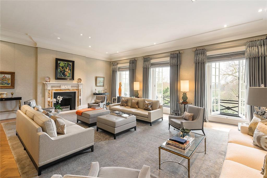 4 Bedrooms Flat for sale in Hyde Park Gardens, Connaught Village, London, W2