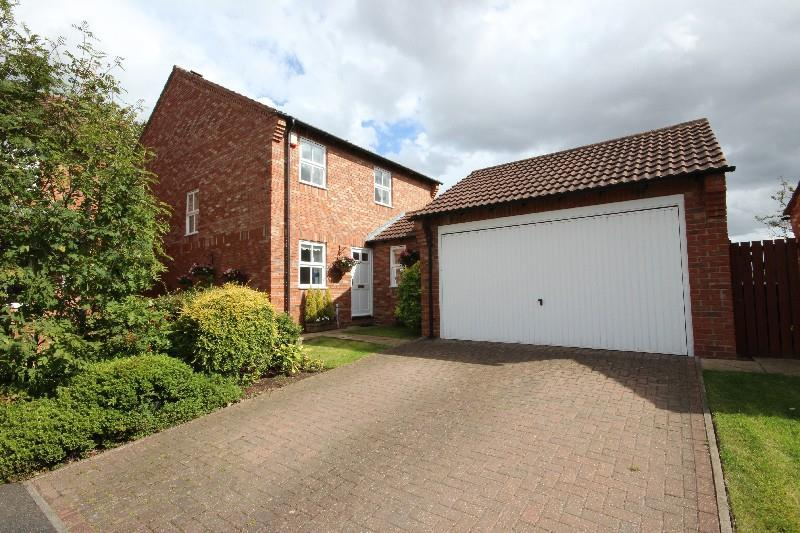 4 Bedrooms Detached House for sale in Abbots Lea, Hartlepool