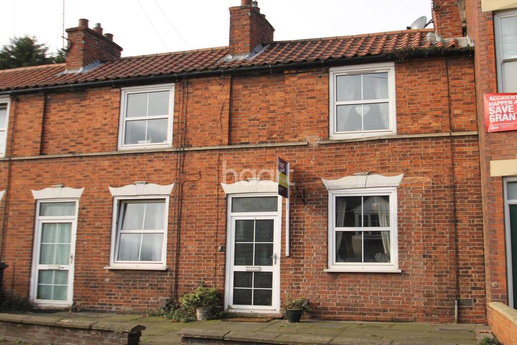 2 Bedrooms Terraced House for sale in Manthorpe Road, Grantham, NG31 8DA
