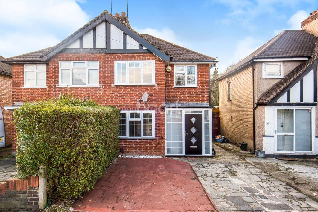 3 Bedrooms Semi Detached House for sale in Glisson Road, Hillingdon