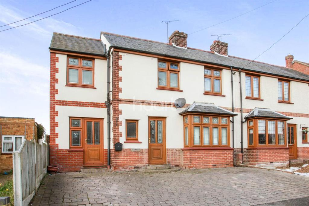 3 Bedrooms Semi Detached House for sale in Maldon Road, Witham, CM8