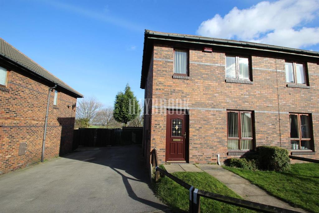 2 Bedrooms Semi Detached House for sale in Greenfield Gardens, Athersley
