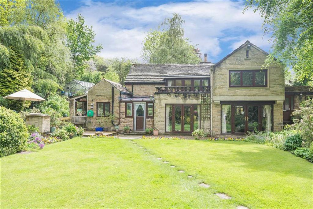 4 Bedrooms Detached House for sale in Manor Cottage, Off Balmoak Lane, Tapton, Chesterfield, S43