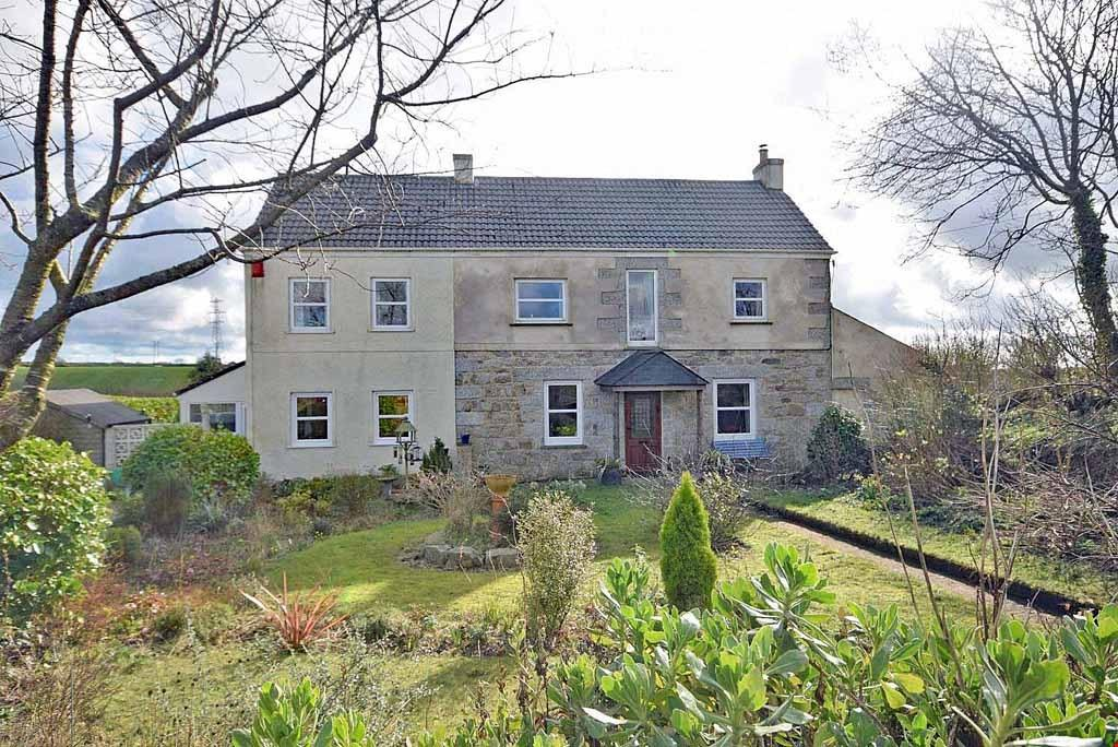 5 Bedrooms Detached House for sale in Carnkie, Nr. Stithians, Cornwall, TR13