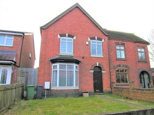 4 Bedrooms Semi Detached House for sale in Lichfield Road,Shelfield,Walsall