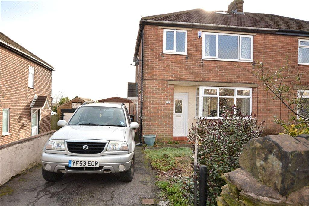 3 Bedrooms Semi Detached House for sale in Owlcotes Road, Pudsey, Leeds