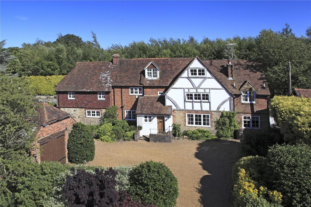 5 Bedrooms Detached House for sale in Potash Lane, St Mary's Platt, Sevenoaks, Kent, TN15