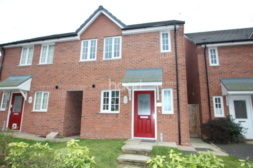 3 Bedrooms Semi Detached House for sale in Bakewell Drive, Top Valley, Nottingham