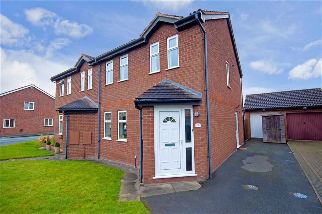 3 Bedrooms Semi Detached House for sale in Freshfields, Off Harlescott Lane, Shrewsbury, Shropshire