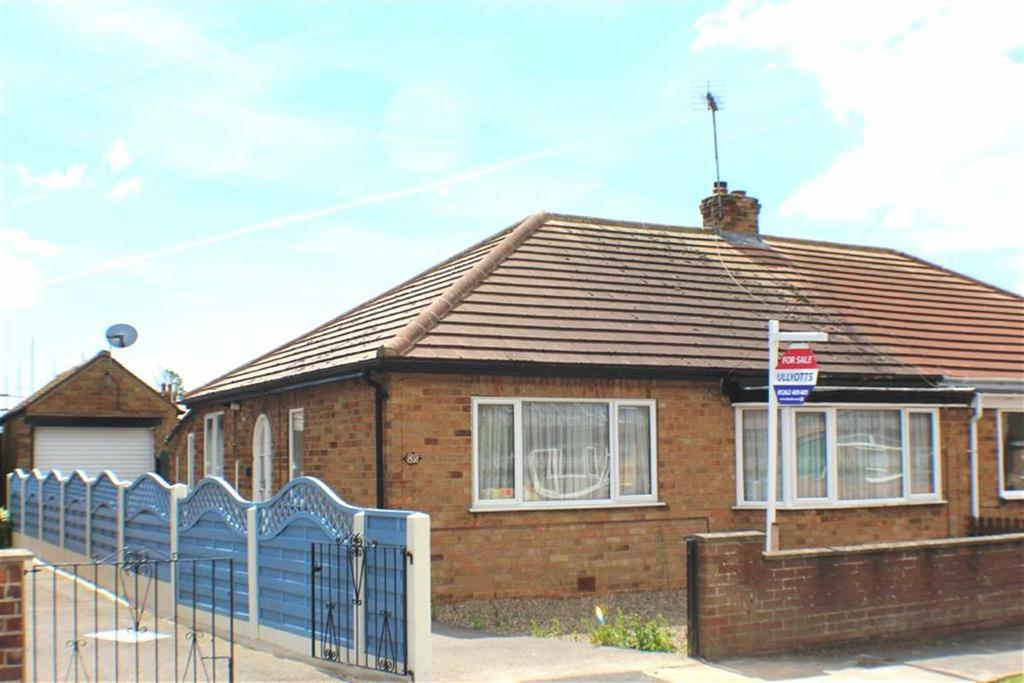 2 Bedrooms Semi Detached Bungalow for sale in St Aidan Road, Bridlington, East Yorkshire