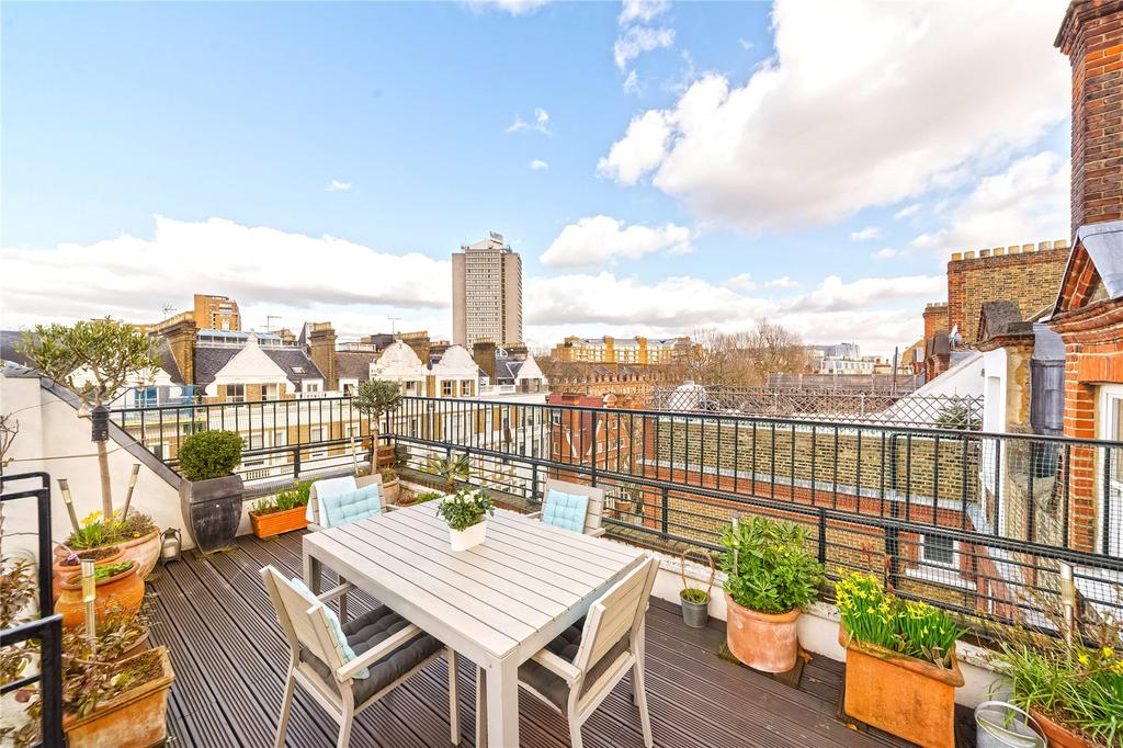 2 Bedrooms Penthouse Flat for sale in Harrington Gardens, South Kensington, London
