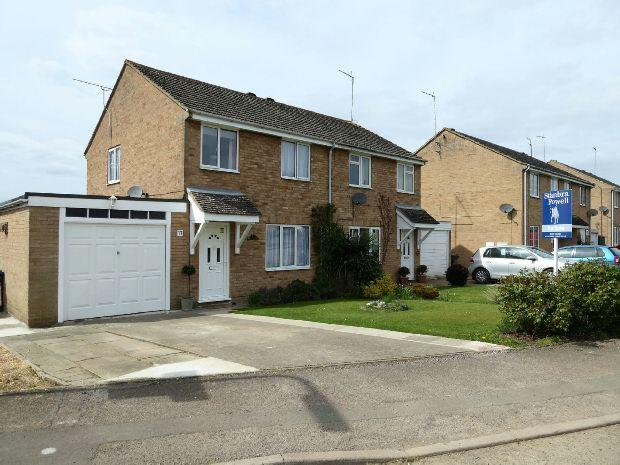 3 Bedrooms Semi Detached House for sale in Hampton Drive, Kings Sutton