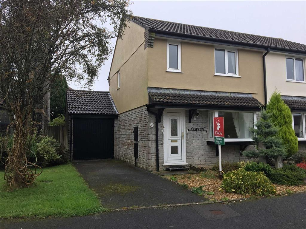3 Bedrooms Semi Detached House for sale in Amble Road, Callington, Cornwall