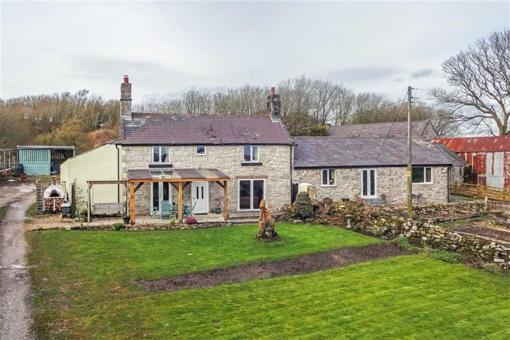 4 Bedrooms Detached House for sale in Nercwys Mountain, Mynydd Du, Nercwys, Mold