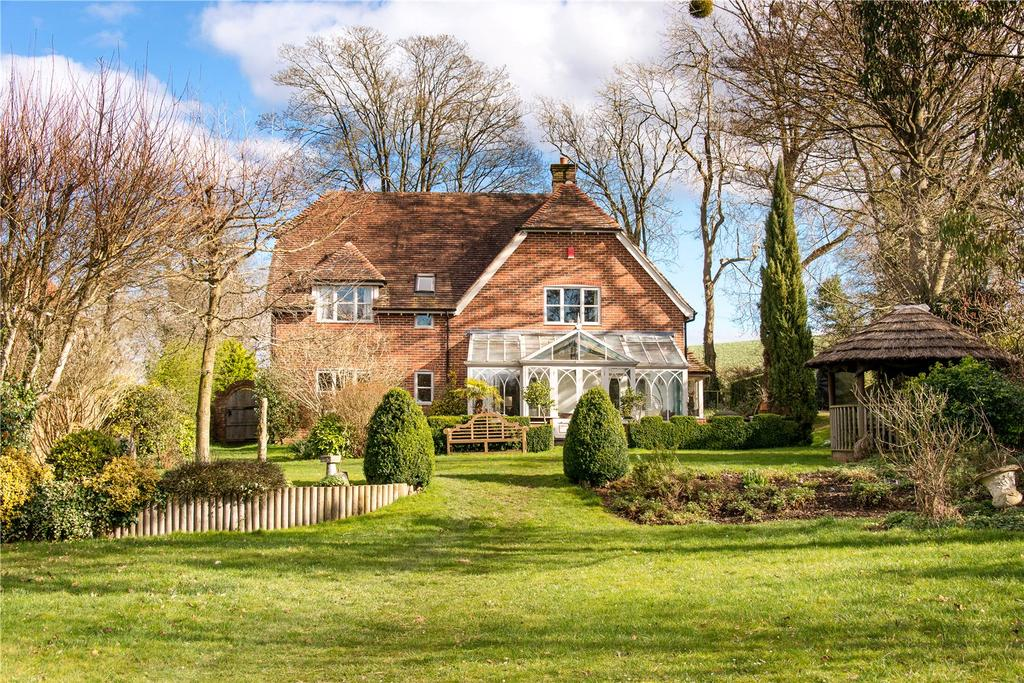 5 Bedrooms Detached House for sale in Easton, Hampshire, SO21
