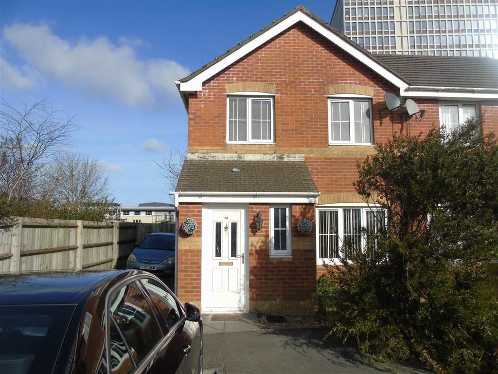 3 Bedrooms Semi Detached House for sale in Honeysuckle Drive, Morriston, Swansea