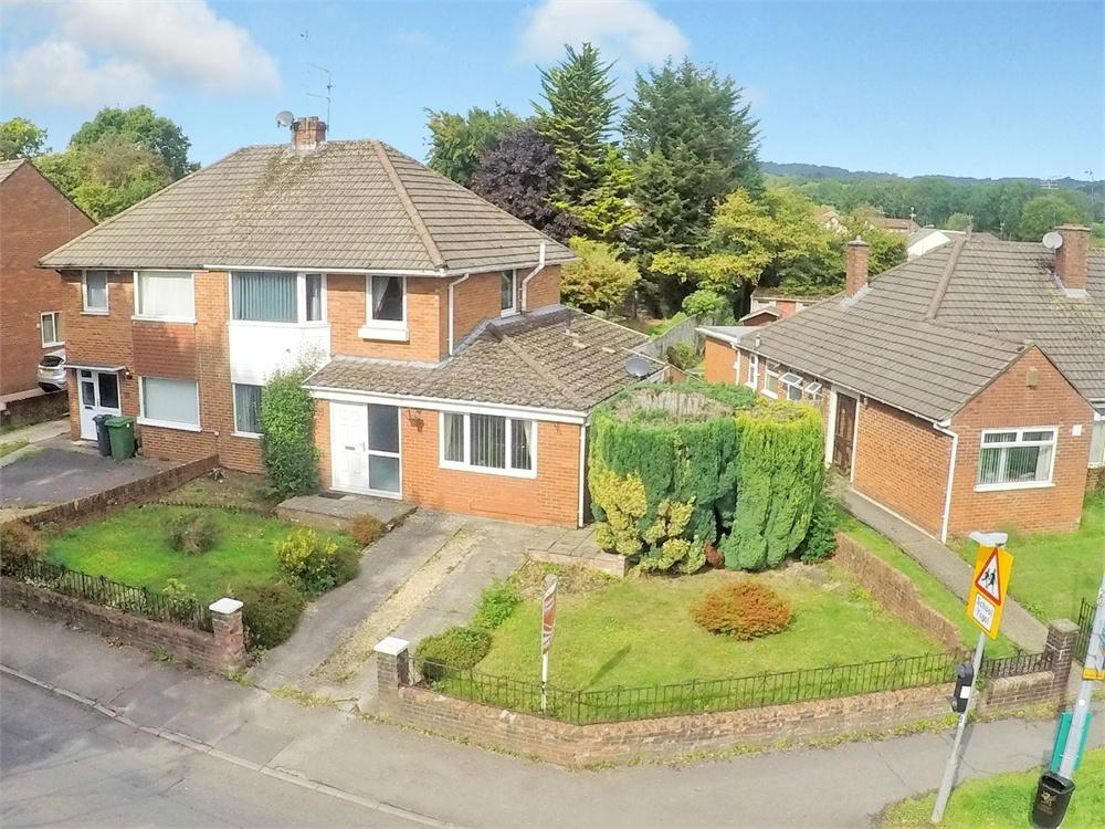 3 Bedrooms Semi Detached House for sale in Gwernrhuddi Road, Cyncoed, Cardiff