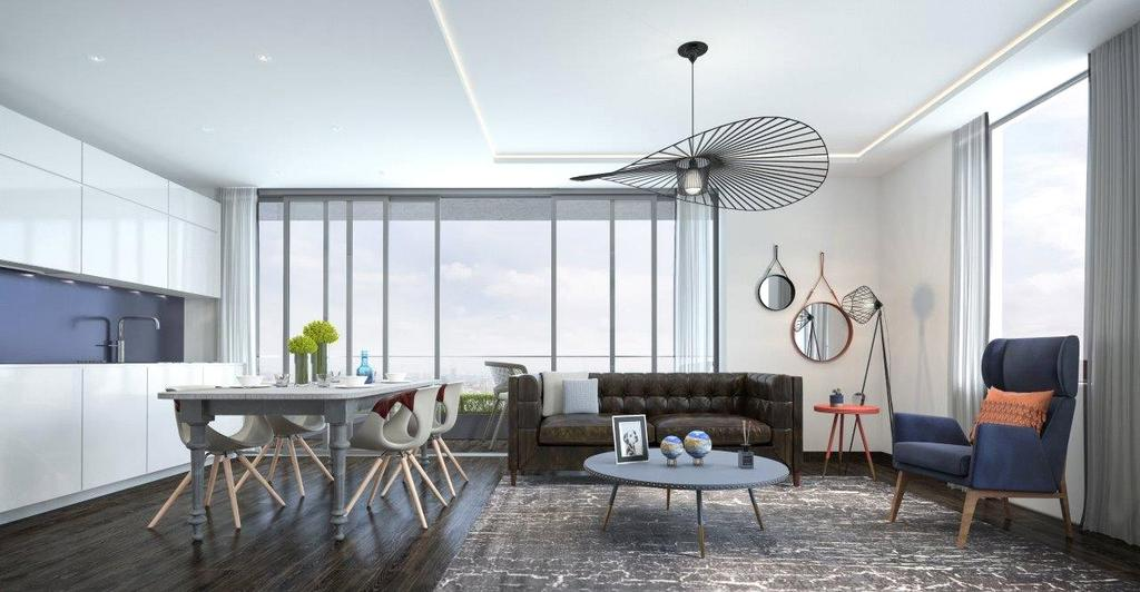 1 Bedroom Apartment Flat for sale in The Stage, Shoreditch, EC2A