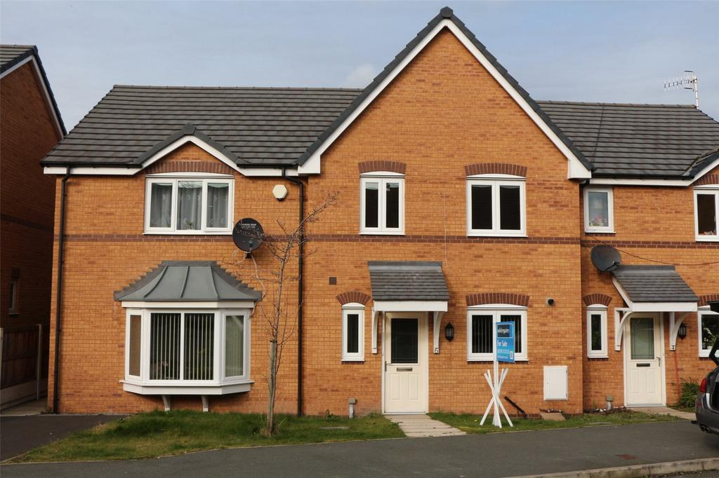 3 Bedrooms Terraced House for sale in Willow Bridge Court, Wrexham, LL13