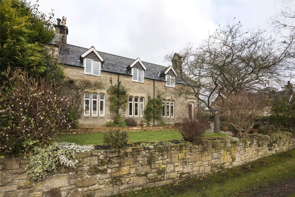 4 Bedrooms Semi Detached House for sale in Mitford, Morpeth, Northumberland