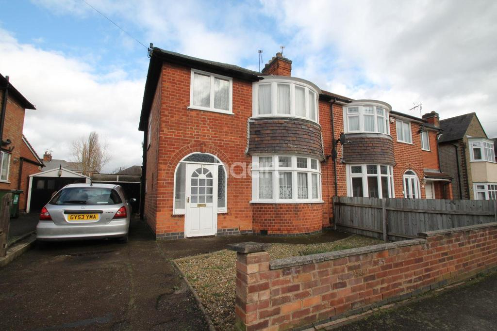 3 Bedrooms Semi Detached House for sale in Edward Avenue, Braunstone Town, Leicester