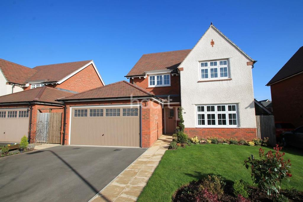 4 Bedrooms Detached House for sale in Monmouth Castle Drive, Mon Bank, Newport