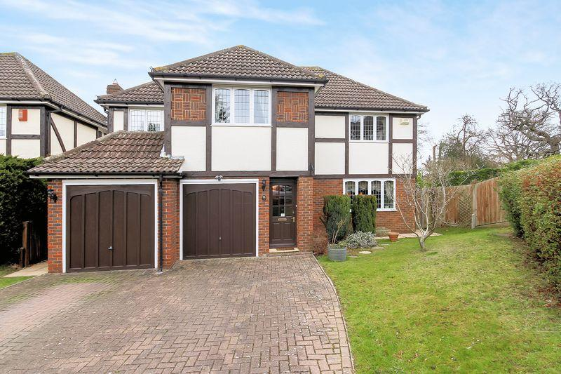 4 Bedrooms Detached House for sale in Potters Close, Shirley