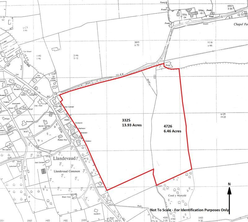 20 39 Acres Llandevaud Farm Land