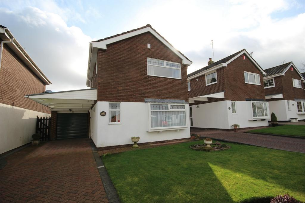 3 Bedrooms Detached House for sale in Thorley Drive, Cheadle, Staffordshire