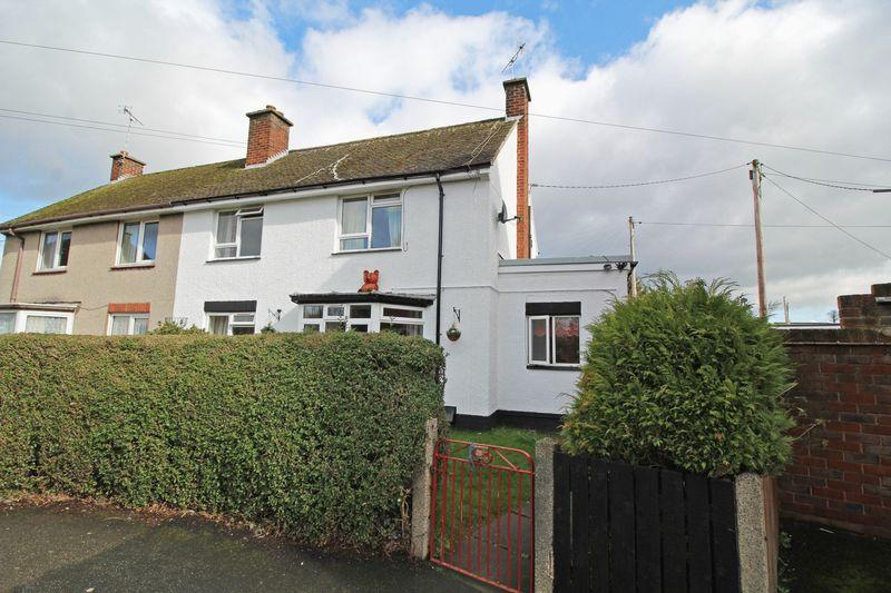 3 Bedrooms Semi Detached House for sale in West View, Chirk