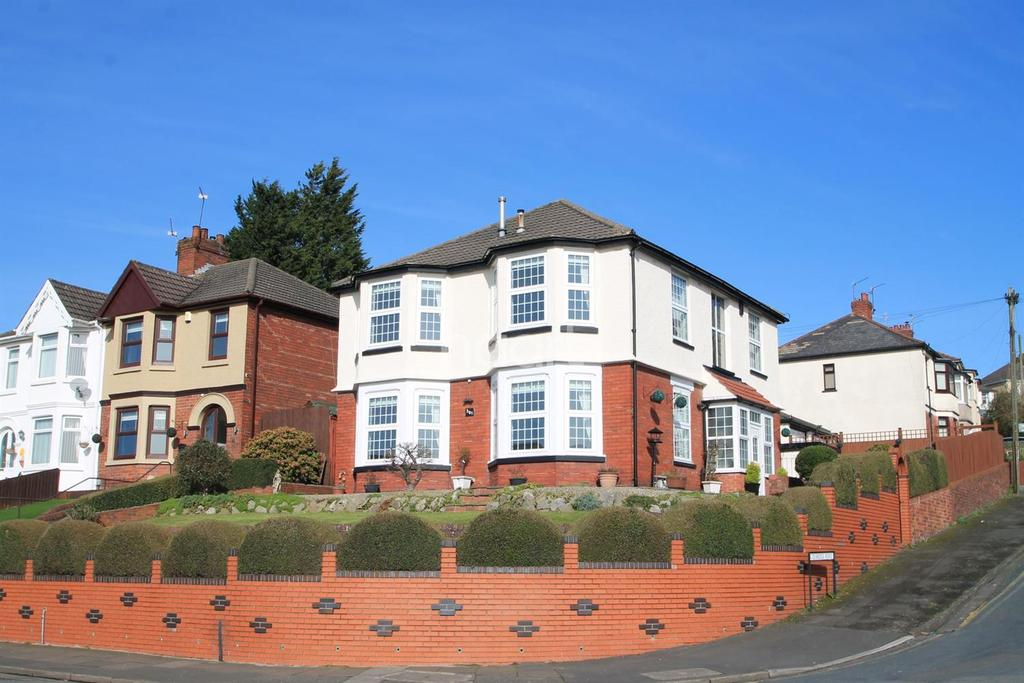 4 Bedrooms Detached House for sale in Chepstow Road, Beechwood, Newport