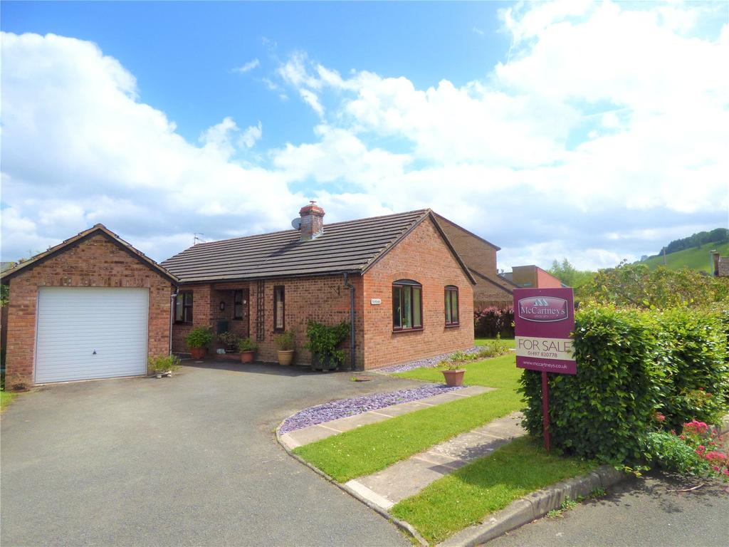 3 Bedrooms Detached Bungalow for sale in Beeches Park, Boughrood, Brecon, Powys