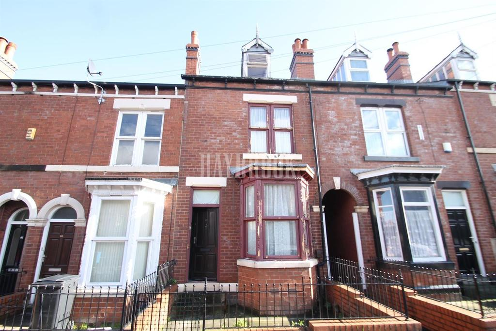 3 Bedrooms Terraced House for sale in Sharrow Street, Sharrow, S11 8BZ