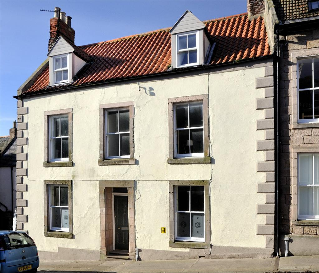 4 Bedrooms Terraced House for sale in Ravensdowne, Berwick-upon-Tweed, Northumberland