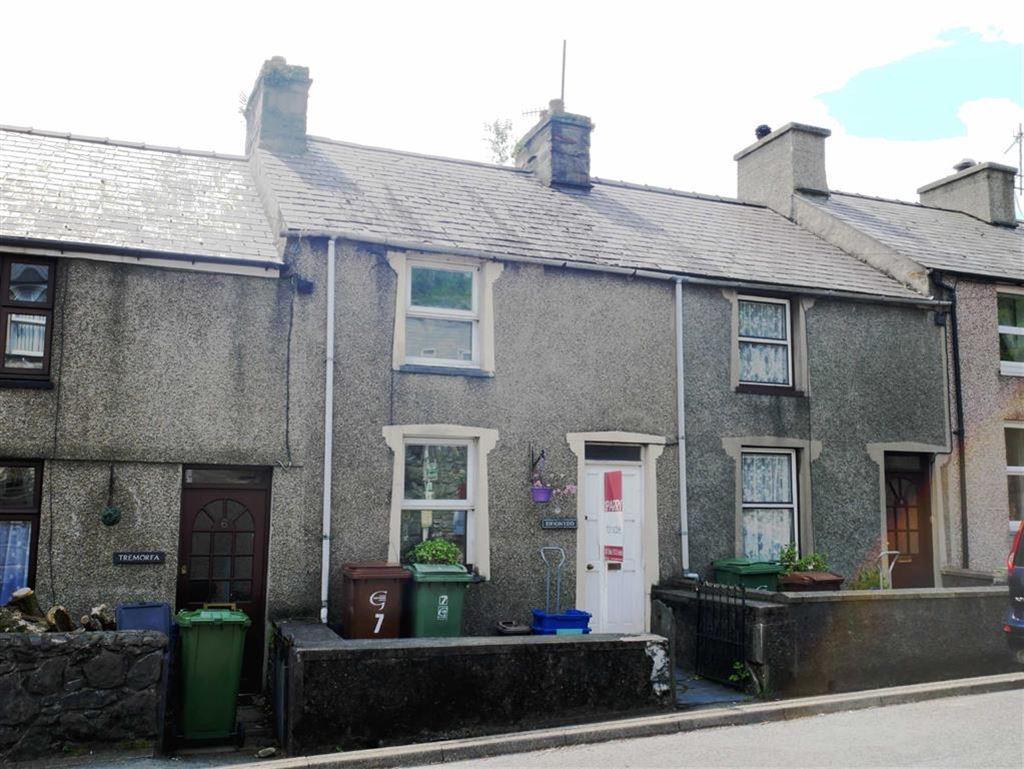 2 Bedrooms Terraced House for sale in Bryncir Terrace, Penmorfa
