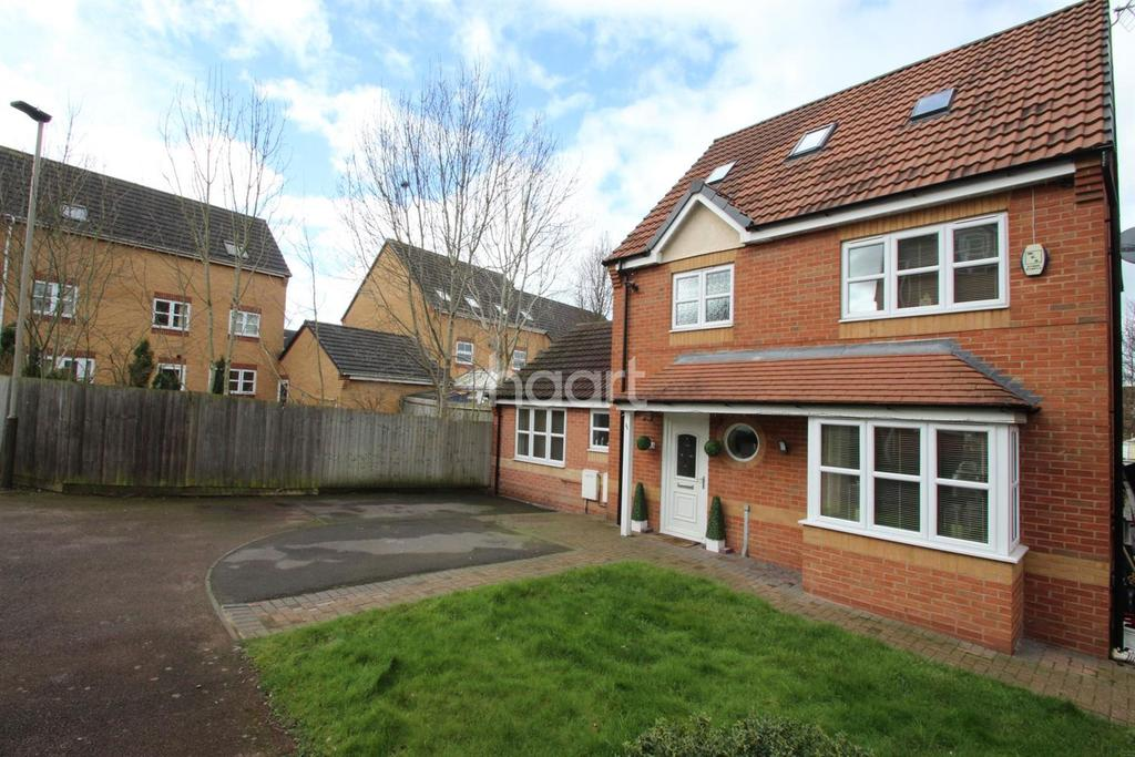 5 Bedrooms Detached House for sale in Kestrel Lane, Hamilton, Leicester