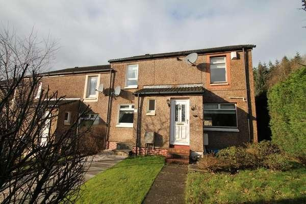2 Bedrooms End Of Terrace House for sale in 30 Morrison Drive, Lennoxtown, Glasgow, G66 7BA