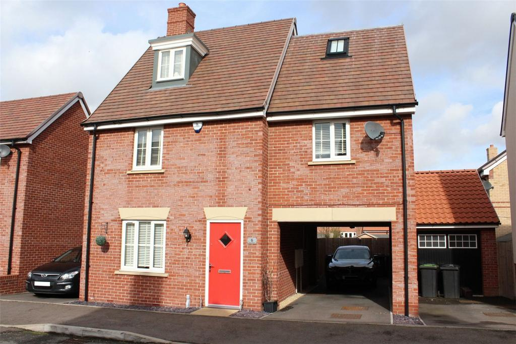 4 Bedrooms Detached House for sale in Betony Gardens, Stotfold, Hitchin, Hertfordshire