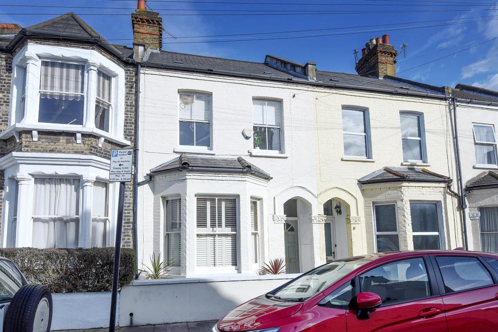 3 Bedrooms Terraced House for sale in Avening Road, Southfields