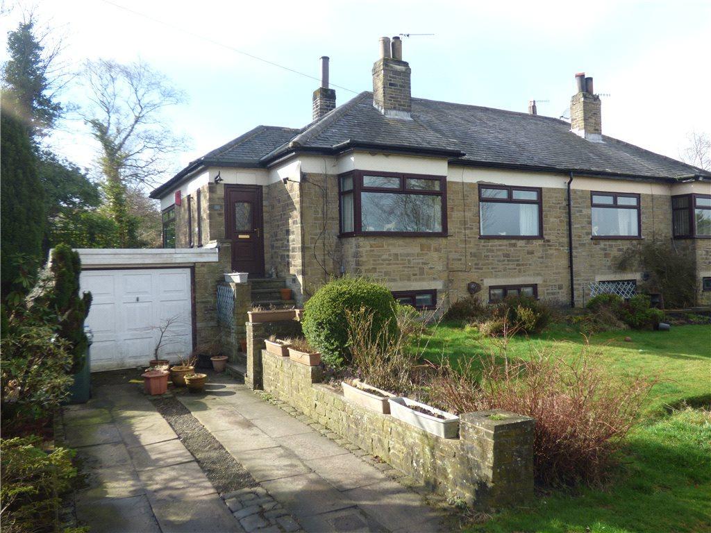 2 Bedrooms Semi Detached Bungalow for sale in Simms Dene, Allerton, Bradford, West Yorkshire