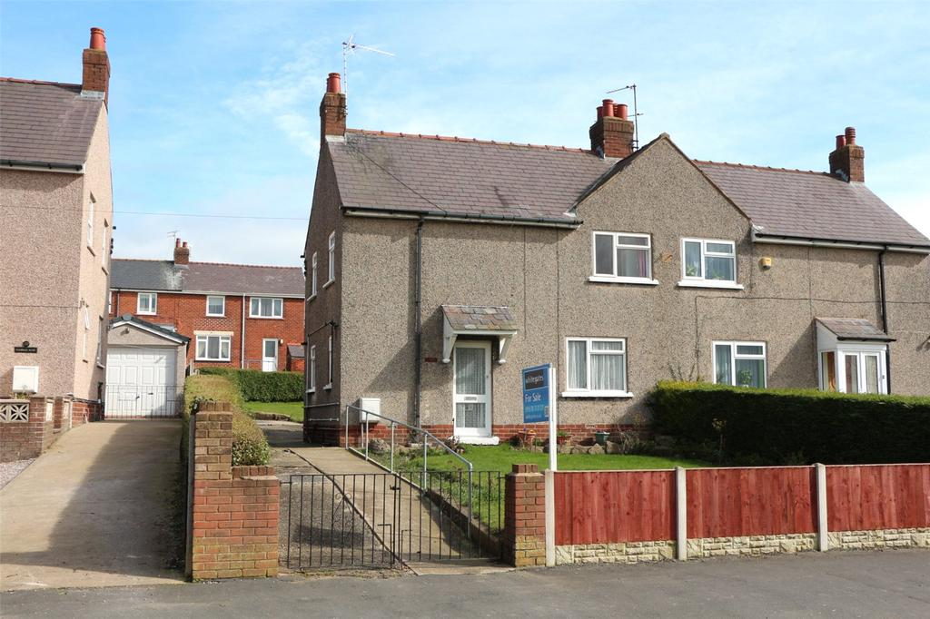 3 Bedrooms Semi Detached House for sale in Long Lane, Brynteg, Wrexham, LL11