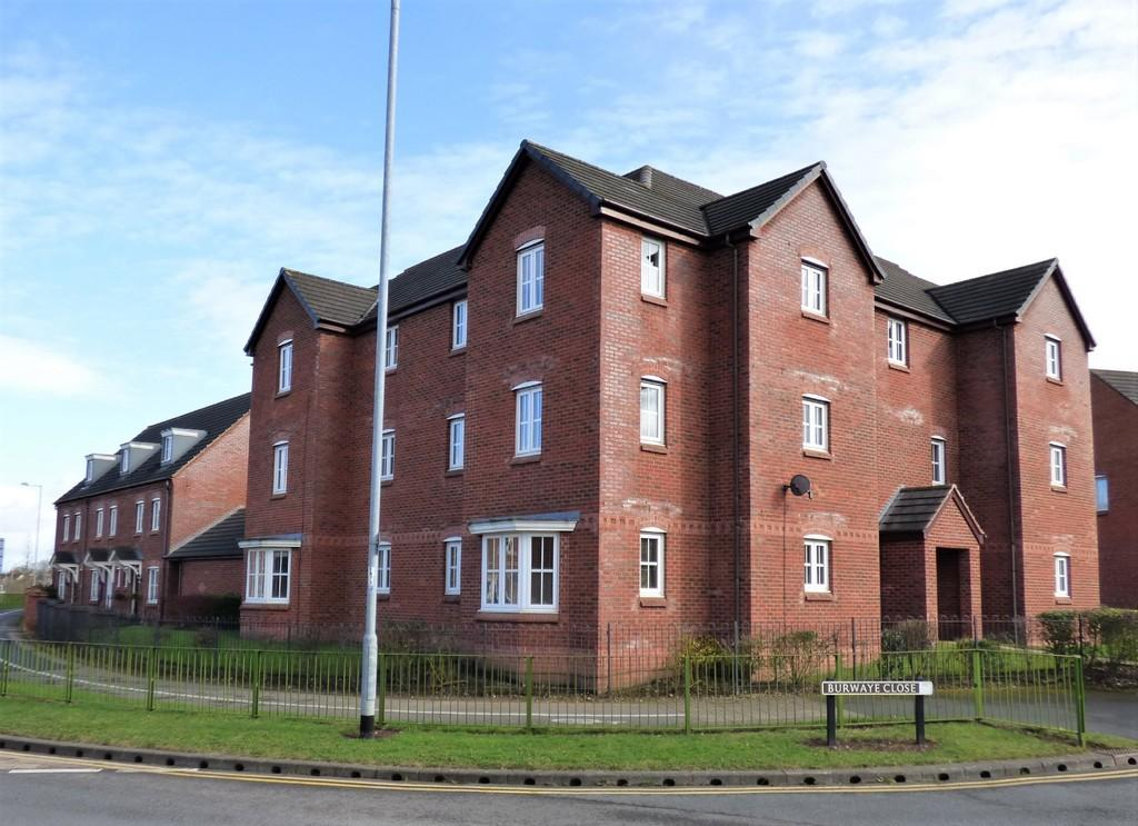 2 Bedrooms Apartment Flat for sale in Burwaye Close, Lichfield