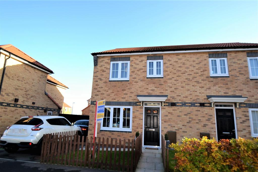 3 Bedrooms Semi Detached House for sale in Abbey Green, Spennymoor