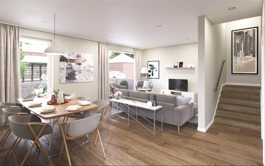2 Bedrooms House for sale in Mews 3, Westerlea Refurb, Ellersly Road, Edinburgh, Midlothian