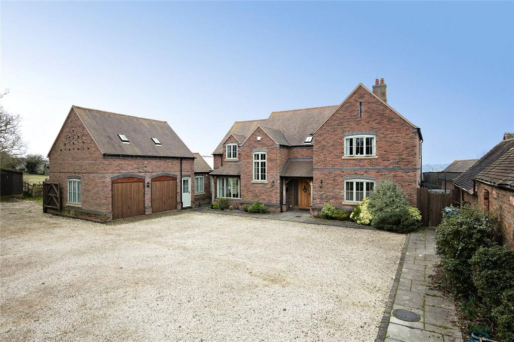 5 Bedrooms Detached House for sale in School Street, Churchover, Rugby, Warwickshire, CV23
