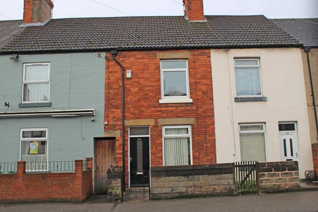 3 Bedrooms Terraced House for sale in 165 Gateford Road, Worksop