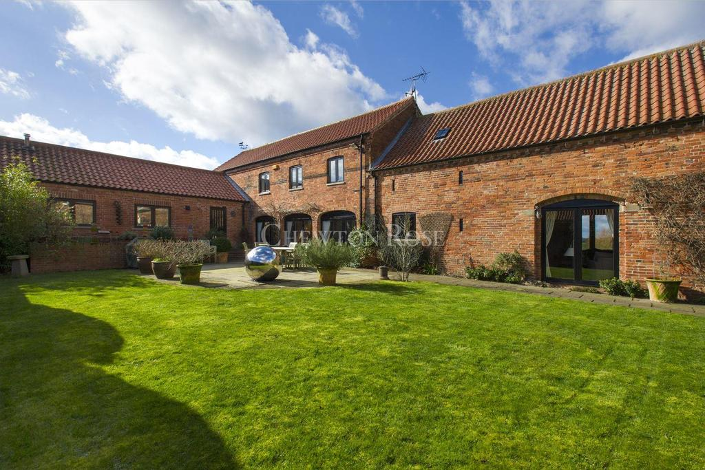 5 Bedrooms Barn Conversion Character Property for sale in Caunton, Newark, Nottinghamshire
